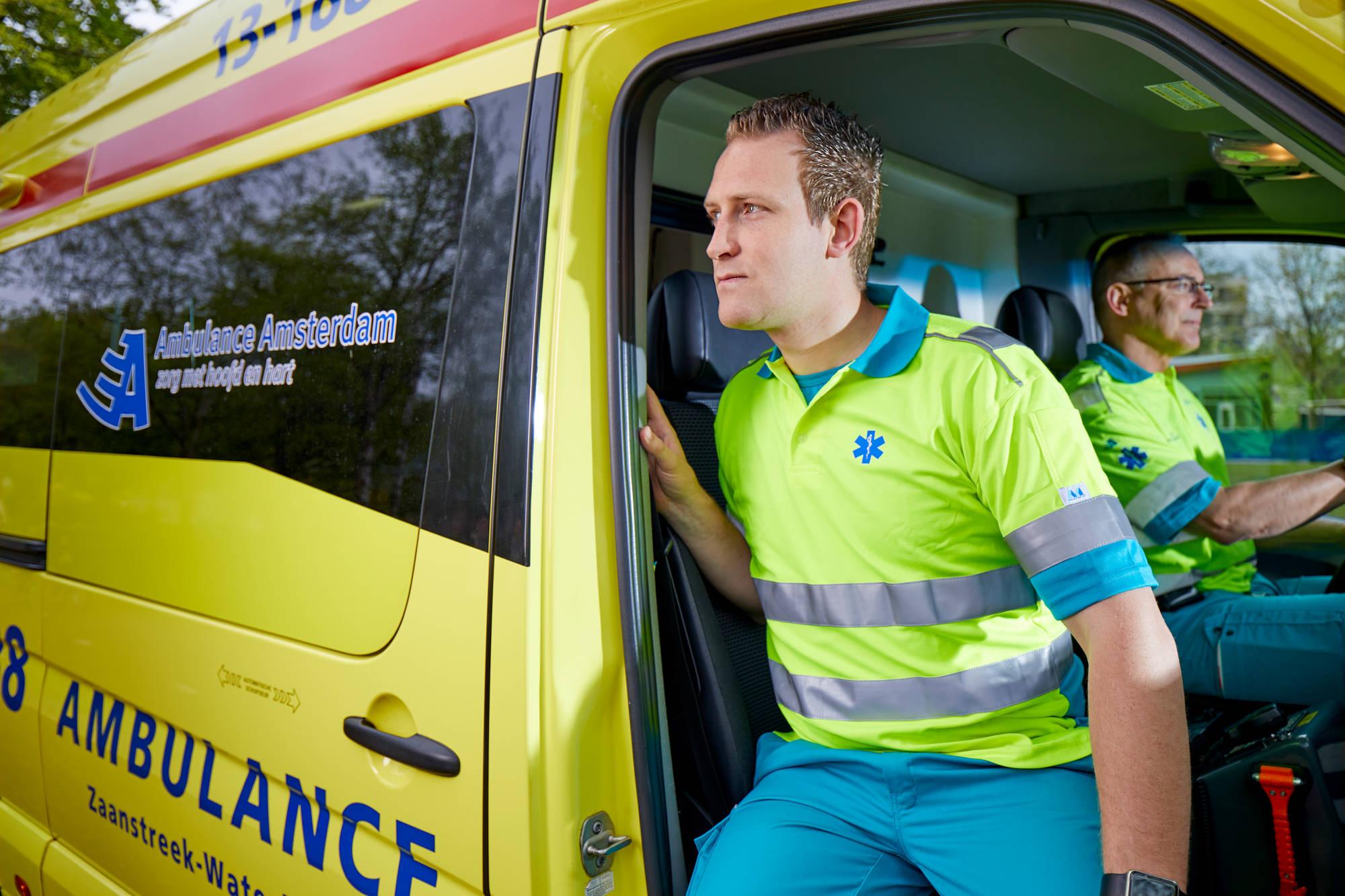 Ambulancechauffeurs even opletten: dinsdagavond 12 november a.s.